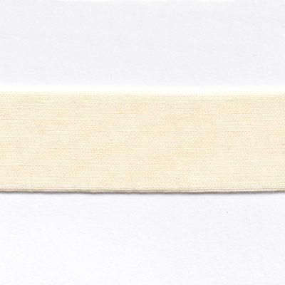 cream cotton jersey bias binding