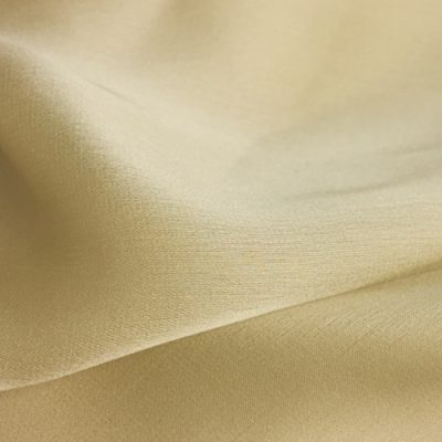 greeny gold pure silk satin chiffon