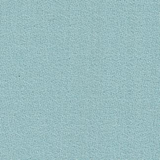 aqua blue green pure wool crepe