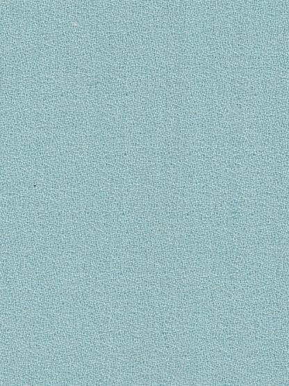 aqua blue green pure wool crepe
