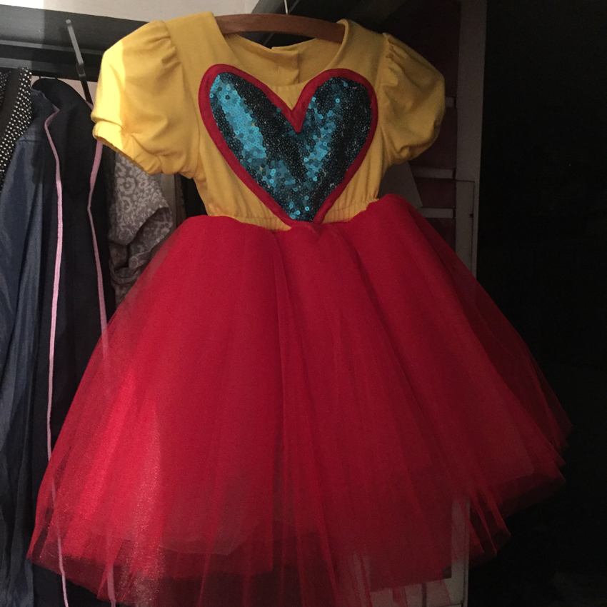 super woman princess dress