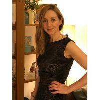 paisley print stretch velour dress