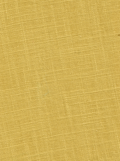 maize yellow heavy washed linen