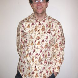 Fairy Tale Print Cotton Shirt