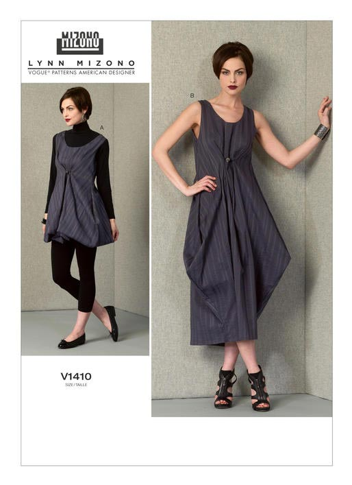 Vogue V1410 Lynn Mizono dress pattern