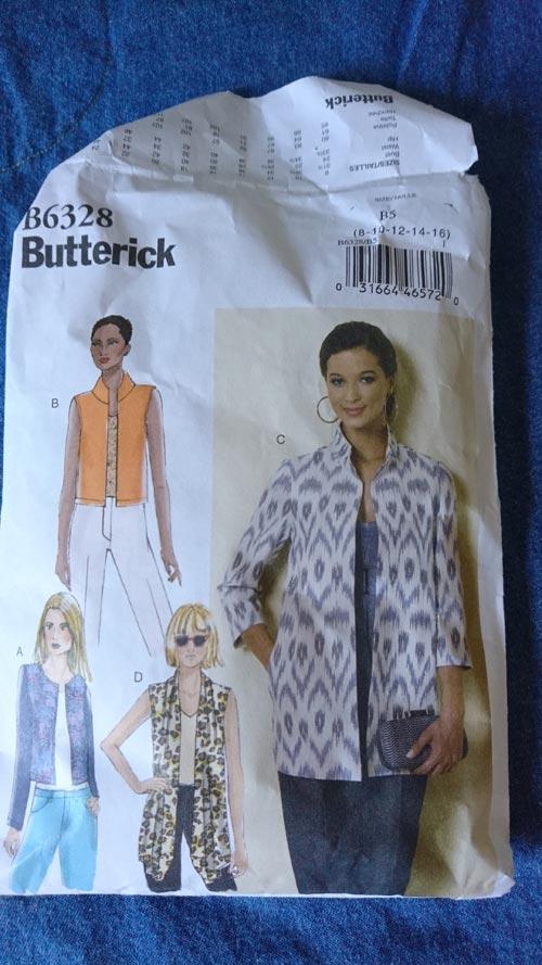butterick 6328 jacket pattern