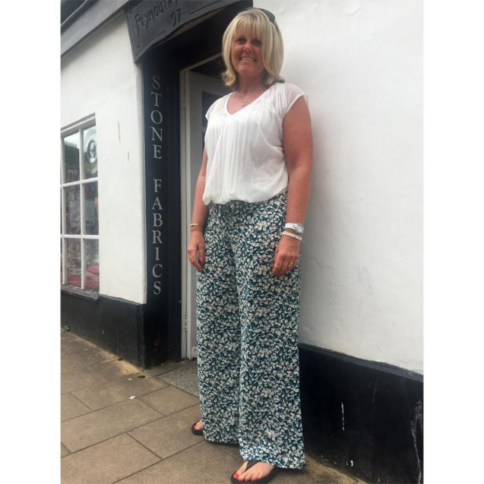 Wide Leg Crepe Simplicity Trousers