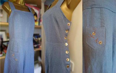 1970's Simplicity Jumpsuit