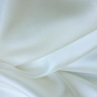ivory silk twill