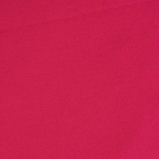 fuchsia pink polyester triple crepe