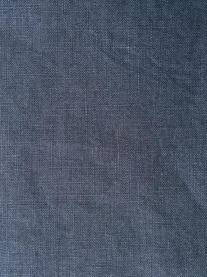 denim blue heavy soft washed linen 2838