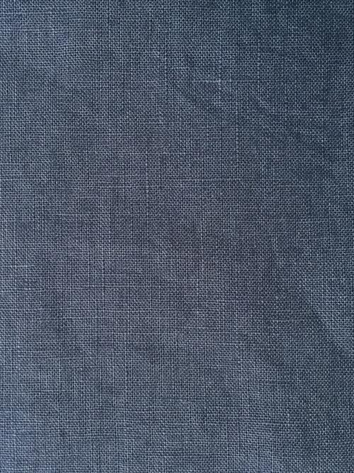 denim blue heavy soft washed linen 2838