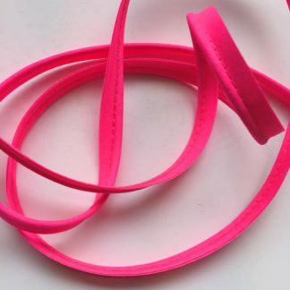 super bright neon pink ready-made piping