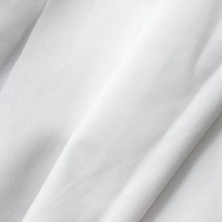 white cotton and polyester sew-in interlining
