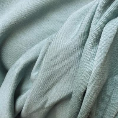 duck egg soft and slinky modal and elastane jersey