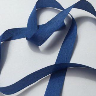 Royal Blue 13mm silk pure silk ribbon