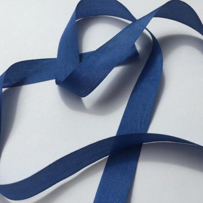 Royal Blue 13mm silk pure silk ribbon