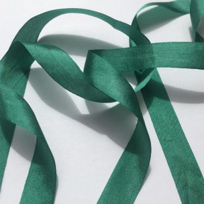 Bottle Green 13mm Pure Silk Ribbon