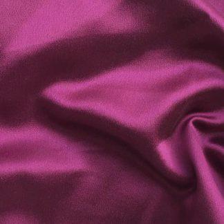 Magenta Purple Pink Silk double crepe back satin