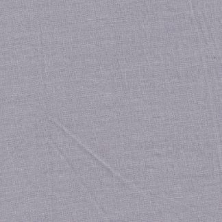 mid grey Sorona and linen mix lightweight dressmaking fabric