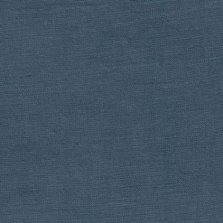 denim blue tencel and linen mix medium weight floppy dressmaking fabric