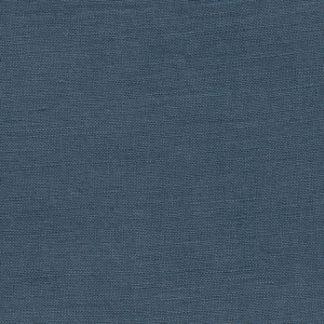 denim blue tencel and linen mix medium weight floppy dressmaking fabric