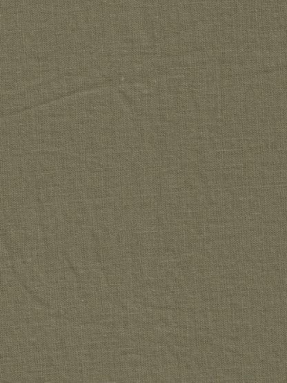 Khaki green linen and sorona mix