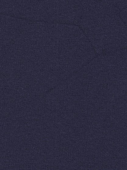 navy blue viscoise and elastane quality lightweight Jersey