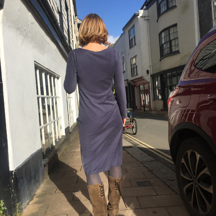 sandwashed modal jersey merchant and mills dress