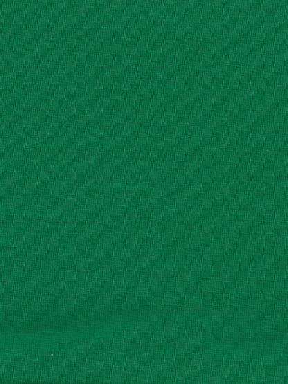 emeral green cotton jersey with 10% Elastane, perfect for leggings