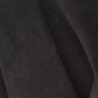 Charcoal Grey 97% Cotton 3% Elastane cotton needlecord corduroy
