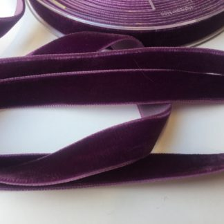 purple high density velvet ribbon