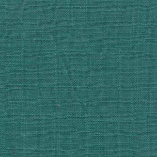 teal blue green medium / heavy enzyme washed linen