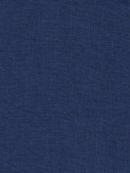 ultramarine royal blue soft washed heavy linen