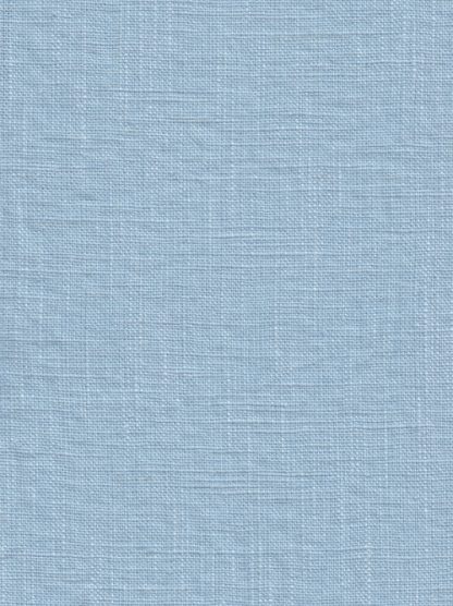 ice blue heavy washed linen