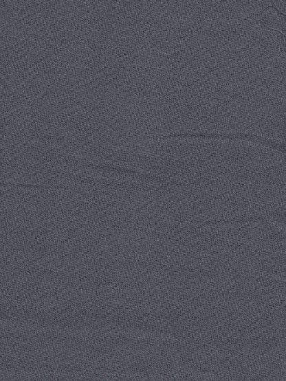 Grey Blue cotton voile