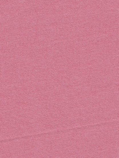 rose pink 100% cotton t-shirt jersey