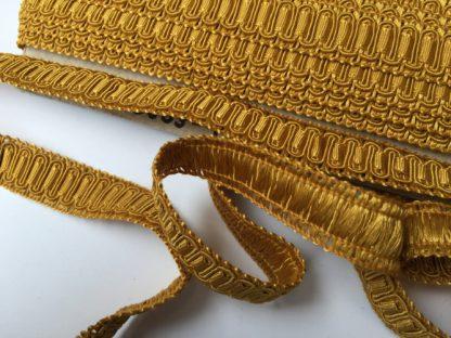 brassy gold gimp braid