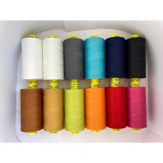 Gütermann Mara 70 thread in 12 colours