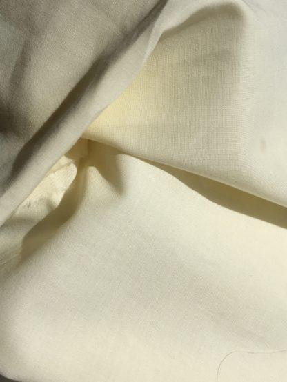 cream cotton lawn