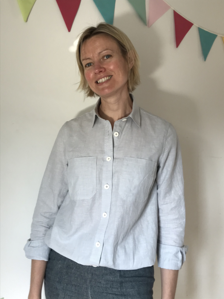 Liesl and Co Linen and Cotton Shirt