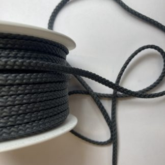 grey polyester braided cord