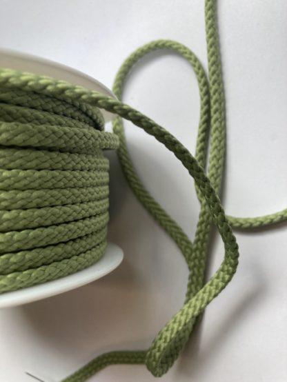 Khaki Green 100% Polyester braided cord