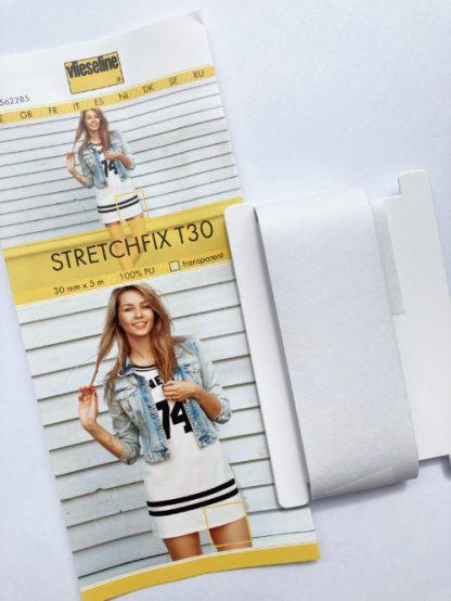 Vlieseline T30 stabilising stretch bondaweb tape for jersey hems