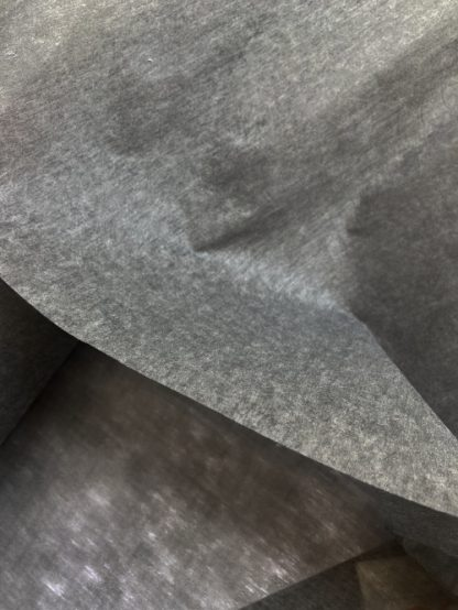 Charcoal non-woven lightweight sew-in interfacing