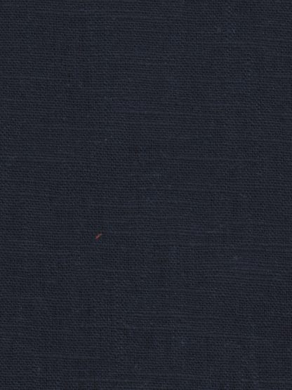 Navy Blue 230gsm enzyme medium / heavy washed linen