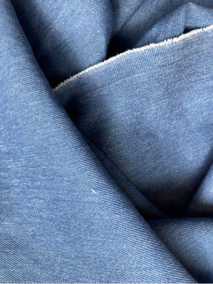 enzyme washed stretch cotton 8.5oz Denim