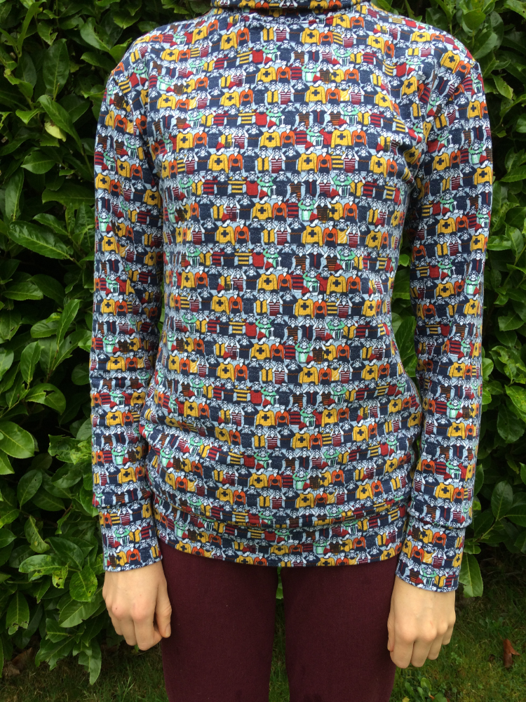 people print french terry sweatshirting southbank sweater