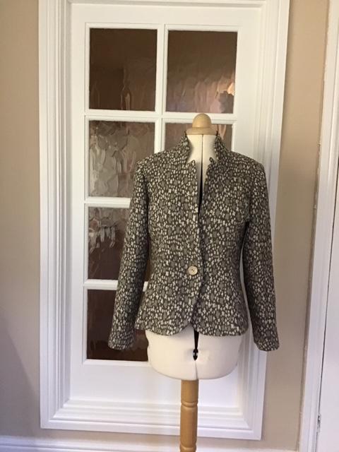 bamboo cloqué jacket