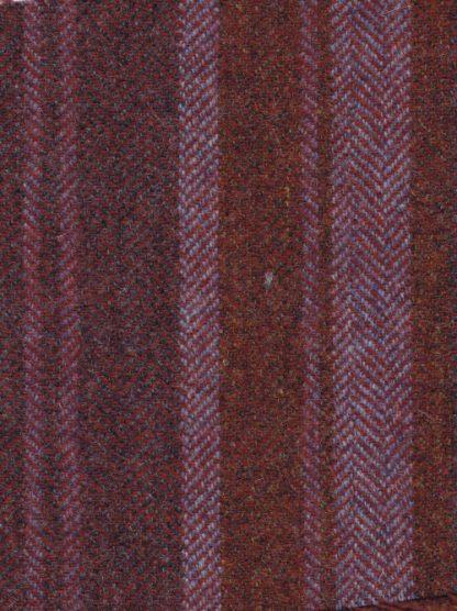 plum purple stripe UK Tweed